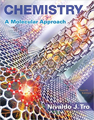 Book Cover for Chemistry: A Molecu…