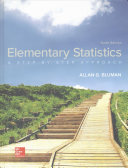 Book Cover for Elementary Statisti…