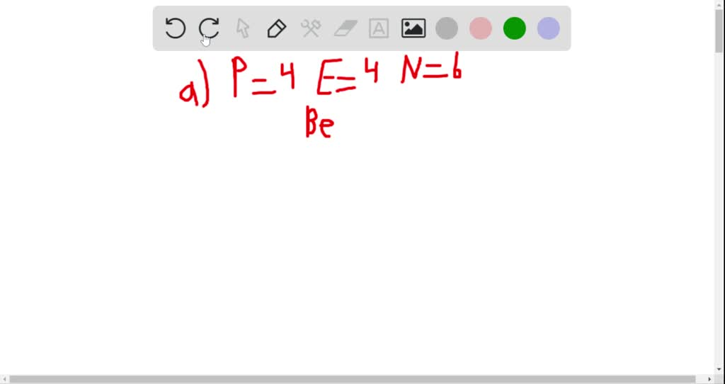 solvedwrite the symbol for an atom or ion with