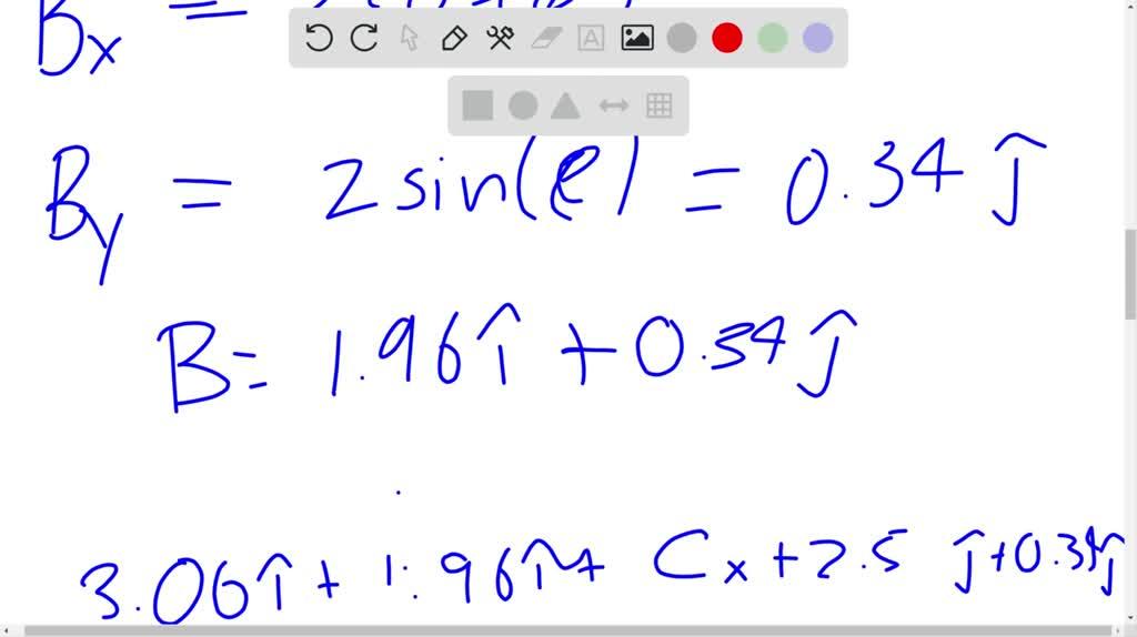 solvedfigure p327 shows vectors veca and ve…
