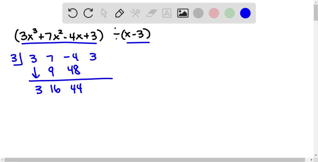 Use synthetic division to divide. \left(5 x^{3}-6…