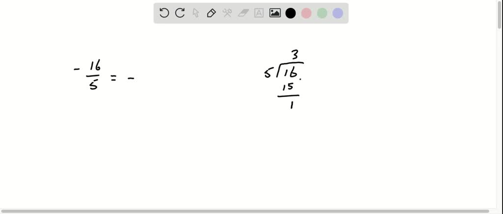 solvedwrite each fraction or mixed number as a d…