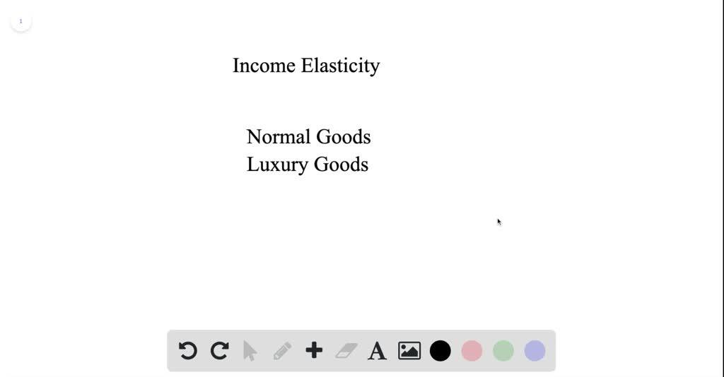 Economists Define Normal Goods As Having A Positi