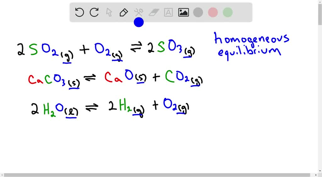 SOLVED:What is a homogeneous equilibrium system?