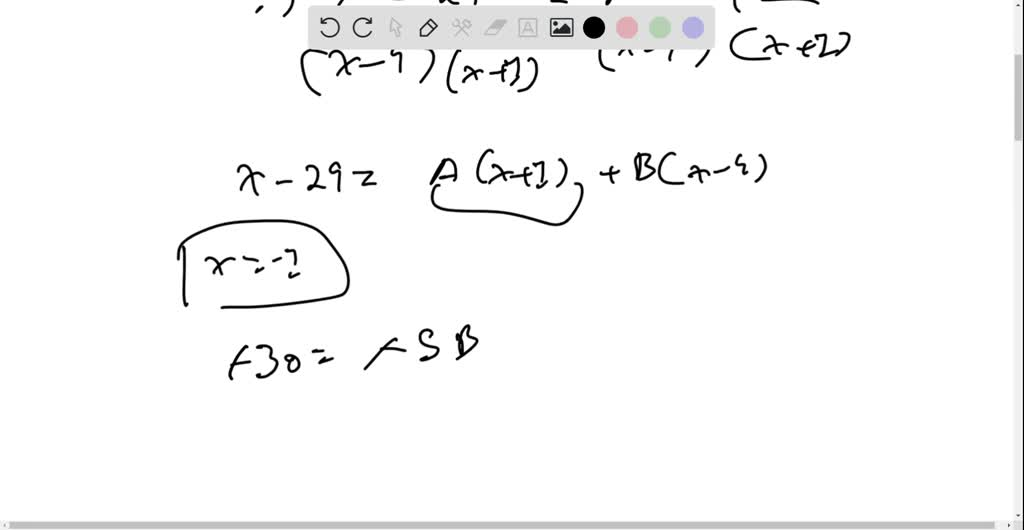 SOLVED:Find the partial fraction decomposition.