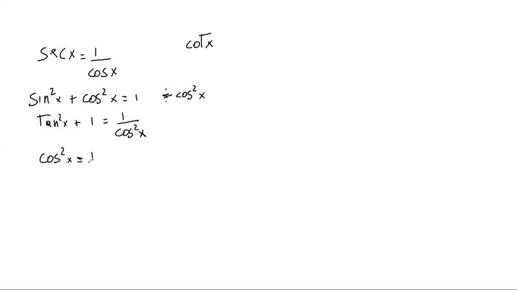 Simplify The First Trigonometric Expression By Wr…