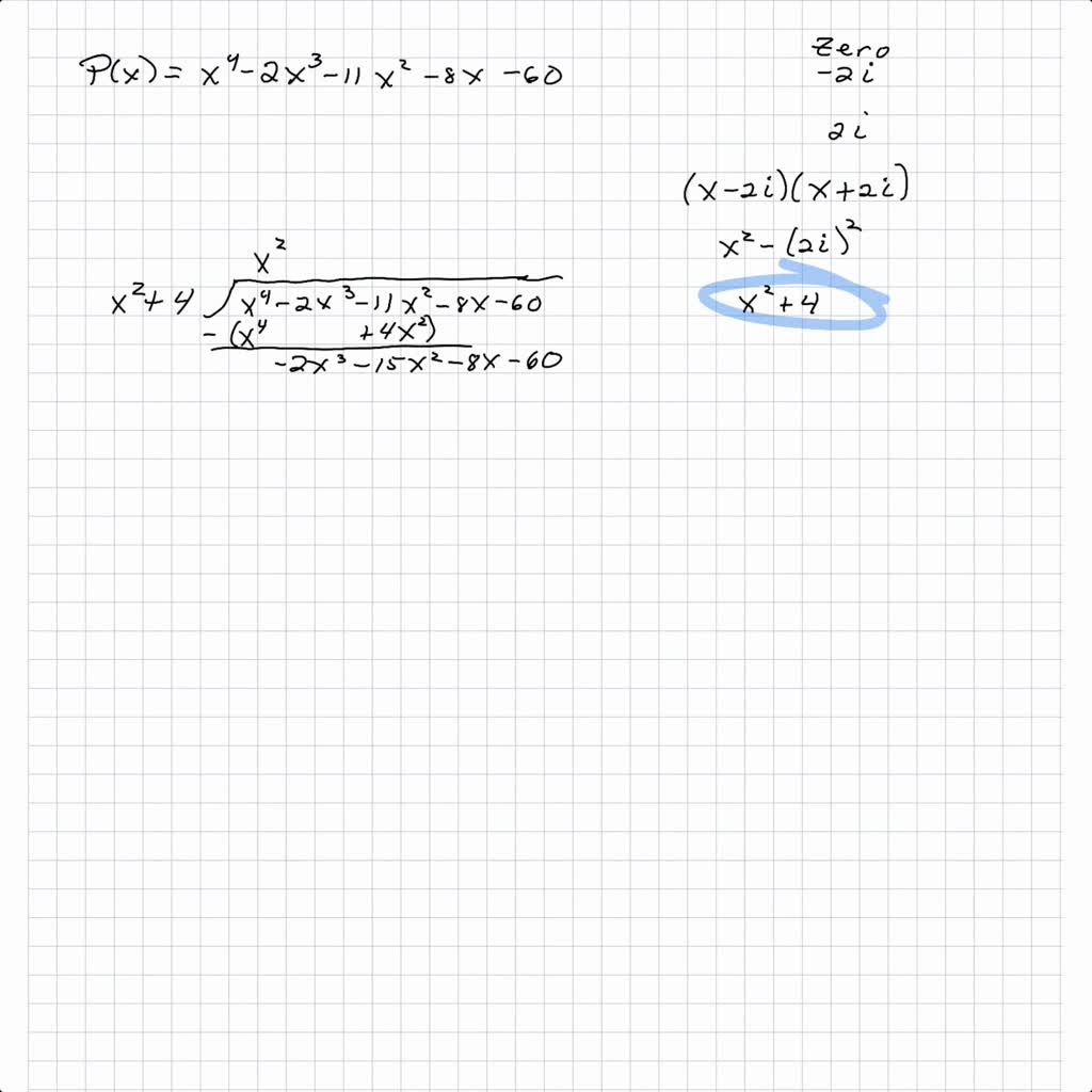 write the polynomial as the product of linear fac…
