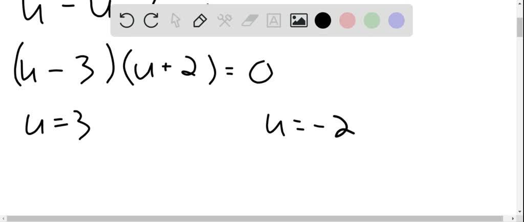 Solve Each Equation. X^{-2 / 3}+x^{-1 / 3}-6=0