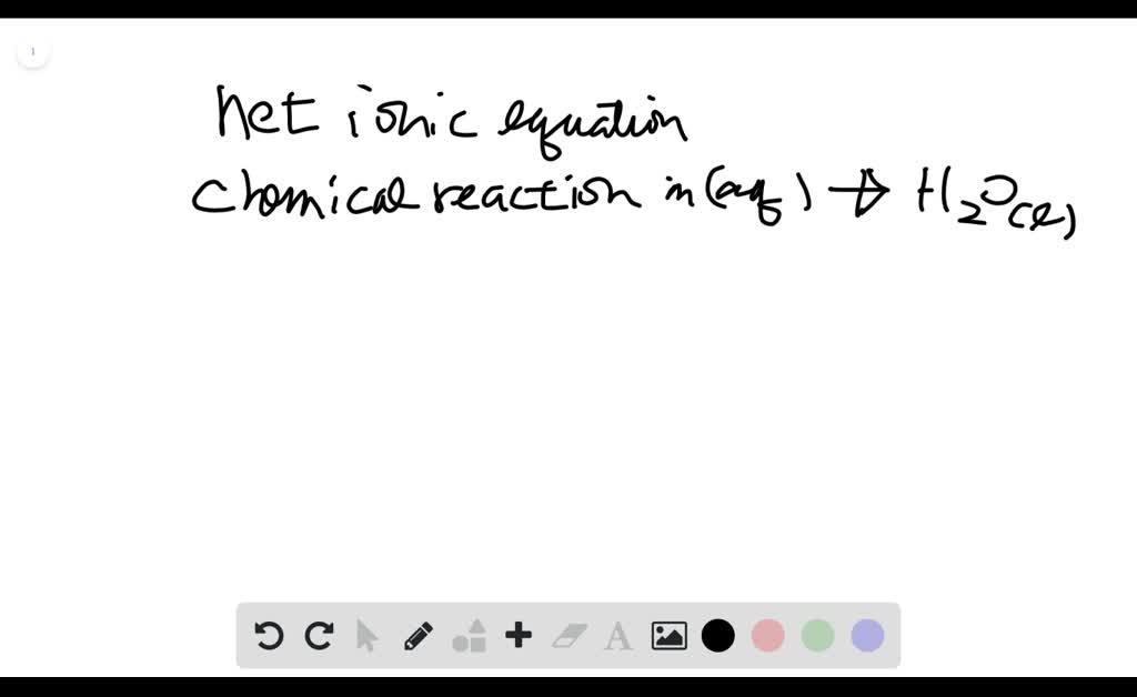 write the balanced net ionic equation for the rea…