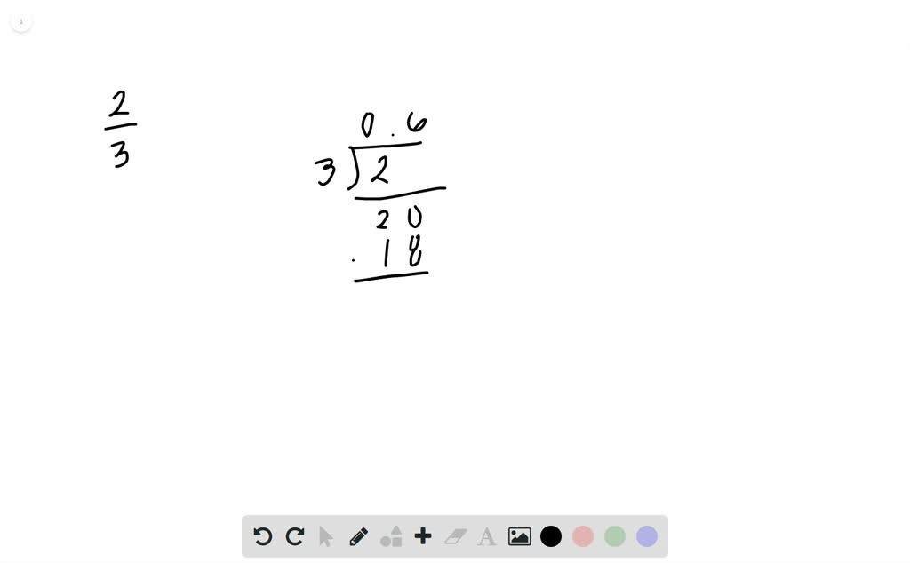 solvedwrite frac23 as a percent a 15